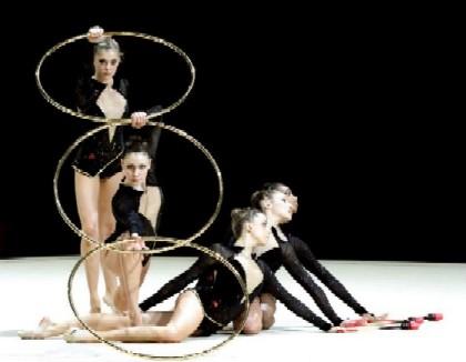 how to teach yourself rhythmic gymnastics